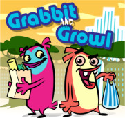 <font color=gray>Grabbit and Growl - Character concept for an animation</font>