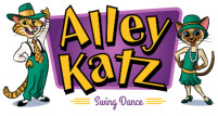 <font color=gray face=Arial>Alley Katz - Character and logo design for a swing dance school</font>